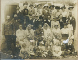 Wedding in the family - 1914